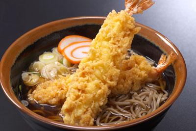 えびの天ぷらそば
