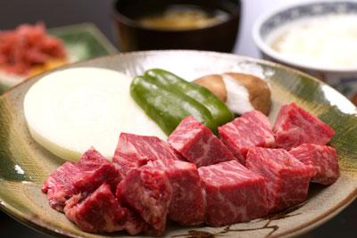 飛騨牛のヒレステーキ定食