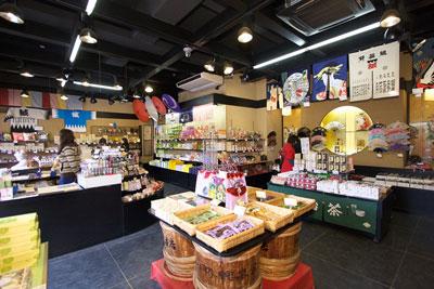 角桑 京都の金閣寺店の店内画像