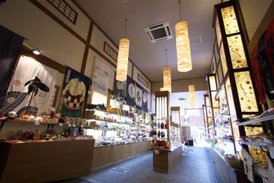 角桑 京都の清水寺店の店内画像